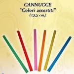 CANNUCCE DRITTE 13,5/7 VIOLA 1000 PZ