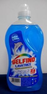 DELFINO LAVATRICE FELCE E TALCO 25 LAVAGGI 1,25 LT