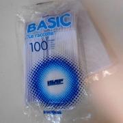 COLTELLO PS 100 PZ BIANCO LE RACCOLTE ISAP