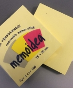 POST-IT MEMO 75X75MM BLOCCHETTO DA 100 FOGLI