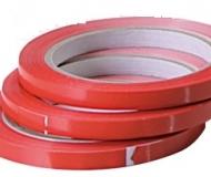 NASTRO ADESIVO PVC ROSSO 66 MT