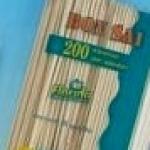 STECCONI BAMBOO CM 20/3 PZ  200
